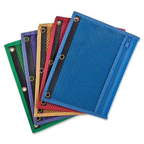 "Oxford - Zipper Binder Pockets, 3HP, 10-1/2""x7-"