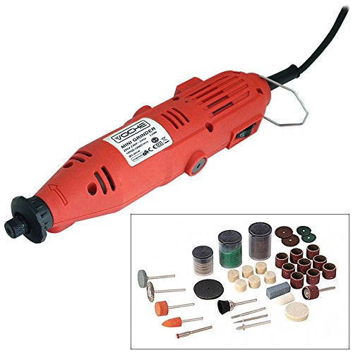 Voche Mini Rotary Hobby Drill Combi Multi Grinder Tool with 105 Piece...