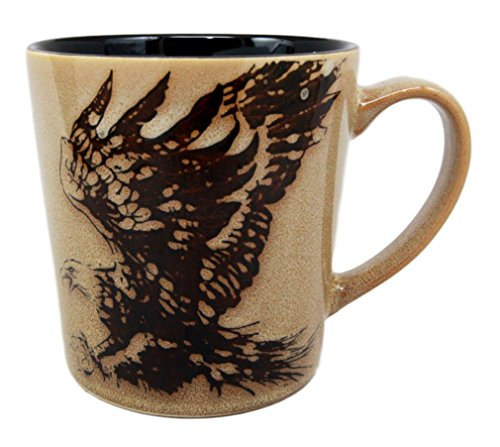 Atlantic Collectibles Glazed Stoneware Wildlife King Of The Sky Patriotic Bald Eagle 13oz Ceramic Mug Coffee Cup
