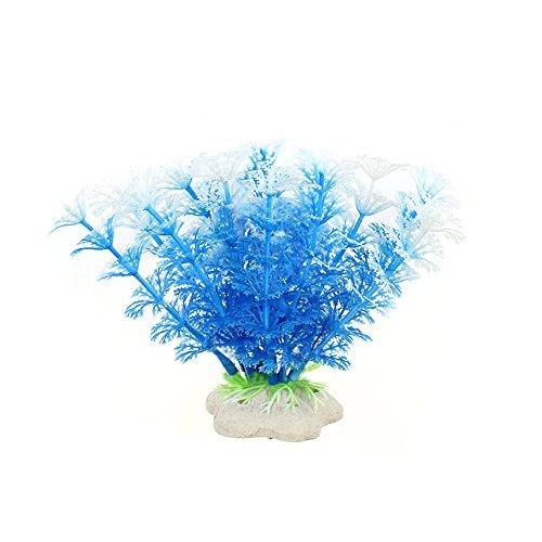 - Fenleo 6 Pcs Artificial Plastic Plant Water Grass, Aquarium Decor Fish Tank Decoration Ornament