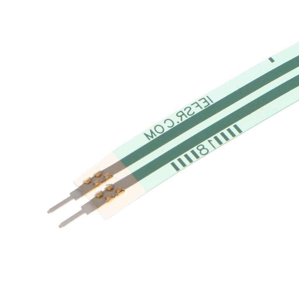 B Blesiya 2Pcs FSR402 Force Sensing Resistor 1.27cm FSR//Resistive Thin Film Pressure Sensor for arduino