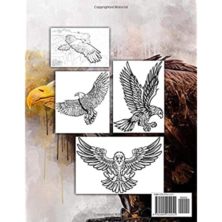 Soaring Eagles – Coloring Book: Majestic Prey...
