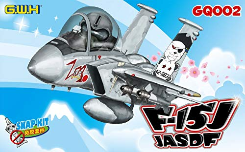 LNRGQ002 Great Wall Hobby Egg Plane F-15J Eagle JASDF [SNAP FIT] [Model Building KIT] ()