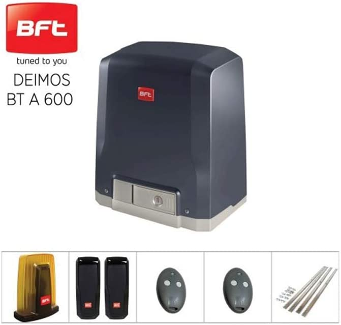 Kit de puerta deslizante con motor BFT Deimos A-600 24 V 600 kg Matic Line 07: Amazon.es: Bricolaje y herramientas