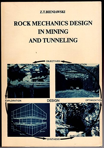 Rock mechanics design in mining and tunneling (Rock Mechanics Design In Mining And Tunneling)