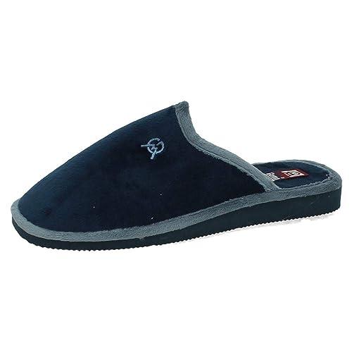 GEMA GARCIA 2064-2 Zapatillas Azules Hombre Zapatillas CASA Marino 39