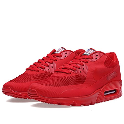NIKE AIR MAX 90 HYP QS sport red/sport red 613841-660_10 (Nike Air Max 90 Hyperfuse compare prices)