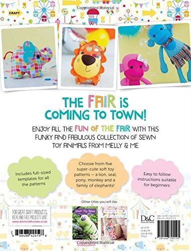 Fun Of The Fair Stuffed Animal Patterns For Sewn Toys Melanie