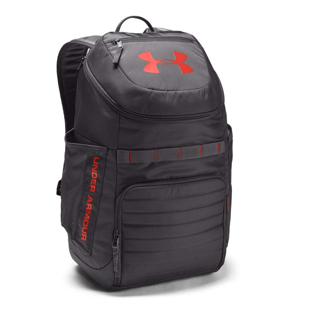 Under Armour Undeniable 3, Charcoal (019)/Radio Red, One Size