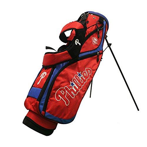 Team Golf 97027 Philadelphia Phillies MLB Nassau Golf Stand - Philadelphia Golf Mlb Phillies