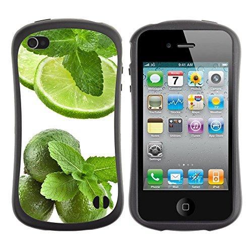 Apple Iphone 4 / 4S [Fresh Lemon]