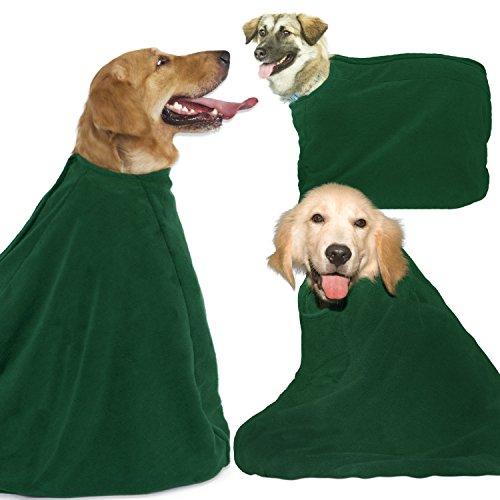 Microfiber Pet Towel Robe for Dogs (Medium)
