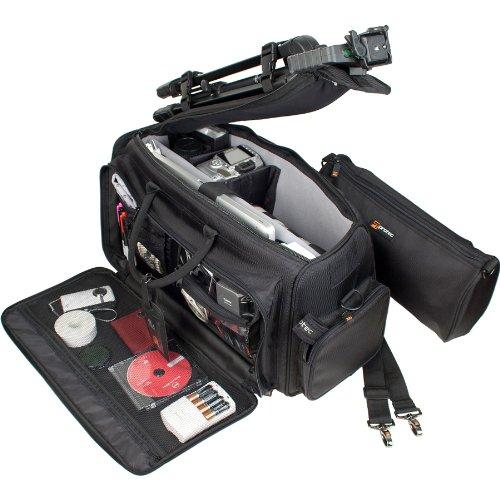 Pro Tec P500 Lightweight Carry-All Bag for Camera/Camcorder/Laptop (Black)