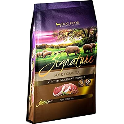 Zignature Pork Formula Dry Dog Food, 13.5 lb. High Protein Formula. Fast Delivery by Just Jak's Pet Market