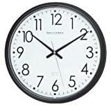 Spy-MAX Security Products Plastic Wall Clock Black (13) Wireless IP Surveillance Camera, Includes Free eBook