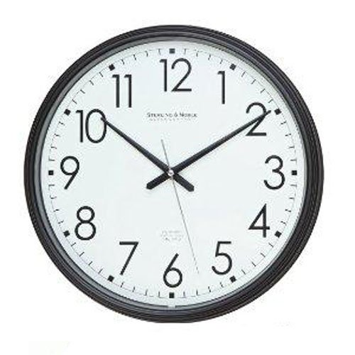Spy-MAX Security Products Plastic Wall Clock Black (13″) Wireless IP Surveillance Camera, Includes Free eBook
