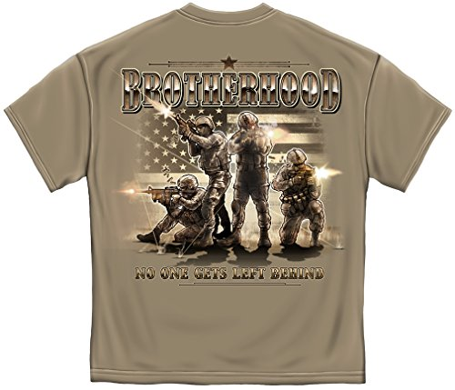 Brotherhood No one Get's Left Behind Marine Corps US Navy - Brotherhood Long Sleeve