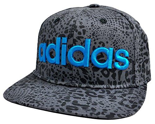 頬骨衝突なめらか(アディダス) adidas キャップ 帽子 ロゴ ベースボールキャップ メンズ レディース フラットバイザー スナップバック オシャレ ad-143311005