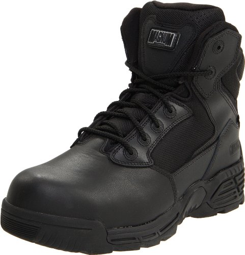 Sport Composite Toe Side Zip - Magnum Men's Stealth Force 6.0 Sz Comp Toe Boot,Black,10.5 M US