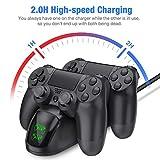 BEBONCOOL PS4 Controller Charger, DualShock 4
