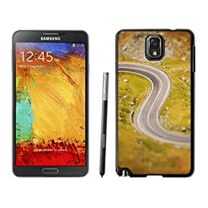 Beautiful Custom Designed Cover Case For Samsung Galaxy Note 3 N900A N900V N900P N900T With Curved Road Phone Case Cover