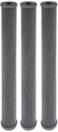 Pentek NCP-20 Pleated Carbon-Impregnated Polyester Filter Cartridge, 20