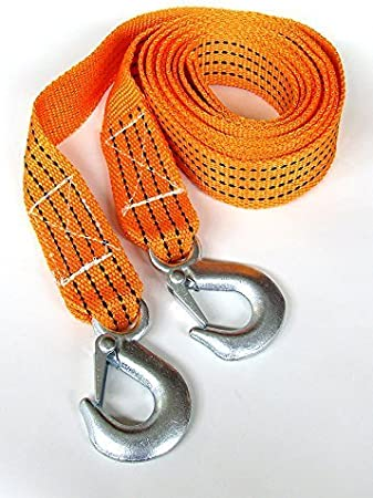 2000kg Breakdown Tow Rope 2 Tons Car Van Towing Strap