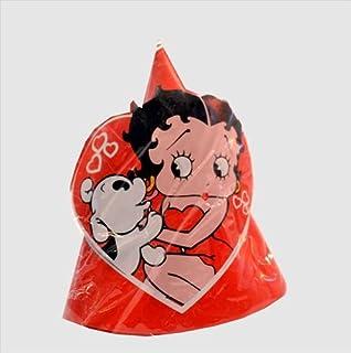 Betty Boop Vintage Cone Hats (8ct)