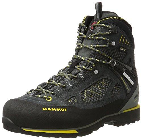 Mammut Ridge Combi Gtx, Zapatos de High Rise Senderismo para Hombre Multicolor (Graphite-vibrant)