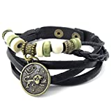 Beydodo Alloy Bracelet (Massive Bracelets) Virgo Length 8IN For Men Women