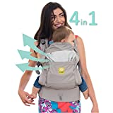 Cheap LÍLLÉbaby 4 in 1 ESSENTIALS All Seasons Baby Carrier, Stone