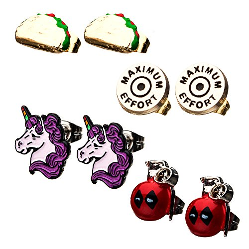 marvel earrings for men - 6