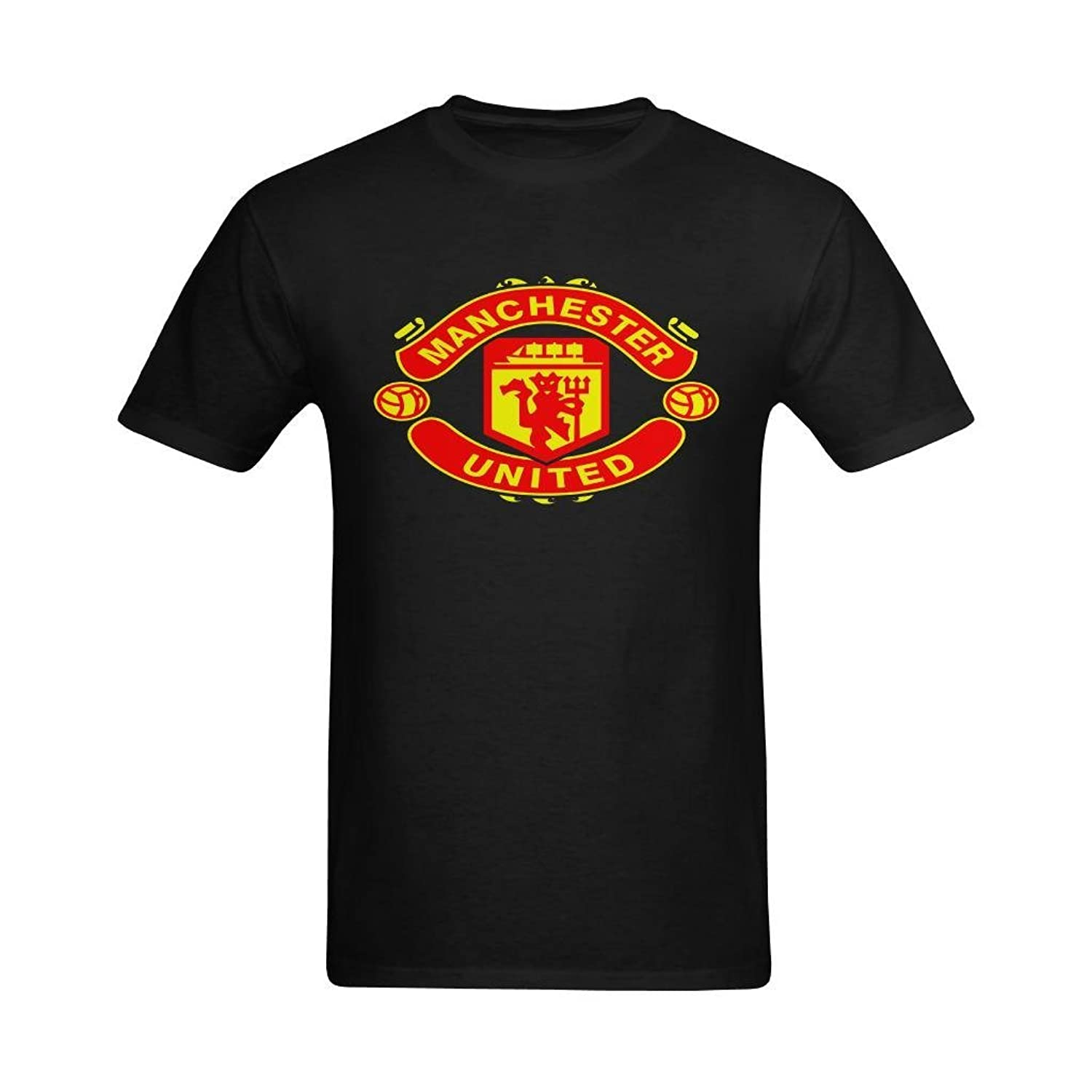 Design t shirt manchester united - Buy Zoey De Men S Manchester United F C The Red Devils Design T Shirt Cool T Shirts Us Size Xl Shop Top Fashion Brands T Shirts At Amazon Com Free