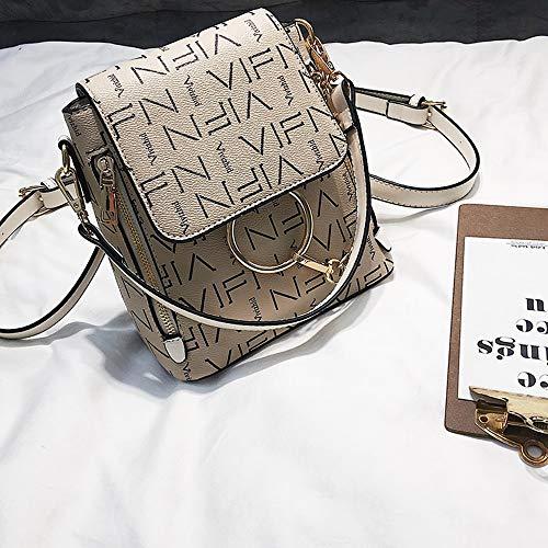 Y & g Gy Sac à dos femme Mode Casual Couleur Portable Épaule Diagonale Paquet Unique -18x21x10cm / + * + / (couleur: C, Taille 18x21x10cm) C