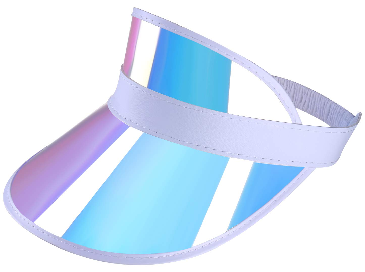YCMI Outdoor Visor Hat PVC Protection Wide Brim for Summer