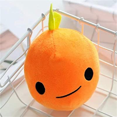 Miklan Cute Fruits Stuffed Ornaments, Plush Fruits Shaped Cuddly Soft Plush Toys Home Car Office Decor Festival Gifts for Kids Friends: Toys & Games