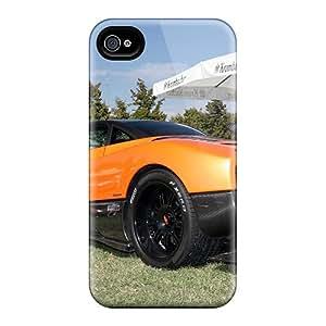 GRleal Iphone 4/4s Hybrid Tpu Case Cover Silicon Bumper Pagani Zonda F