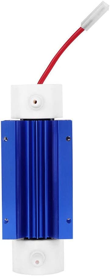 TOOGOO 10G 220V Generador de Ozono Tubo de S/íLice Ozonizador de Agua Aqua Air Agua Ozonizador Fuente de Alimentaci/óN con Disipadores de Calor
