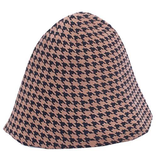 Lawliet Swallow Gird Wool Felt Body Cone Cloche Hood Millinery Hat Block Base B113 (Hat Millinery Blocks)