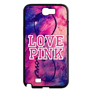 DiyCaseStore Galaxy Nebula Infinity Love Pink Samsung Galaxy Note 2 N7100 Hard Case Cover Protector Christmas Gift Idea