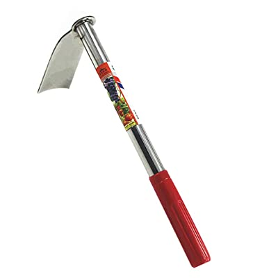 Yarnow Garden Hand Hoe Cultivator Stainless Steel Hand Rake and Hand Hoe Garden Tool for Planting Transplanting Weeding Moving Smoothing Soil : Garden & Outdoor