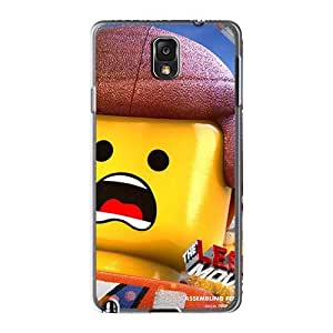 Perfect Hard Cell-phone Cases For Samsung Galaxy Note3 With Allow Personal Design HD The Lego Movie Series NataliaKrause