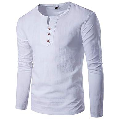 Camisetas De Hombre Camisa De Manga Larga para Hombre Camisa para ...