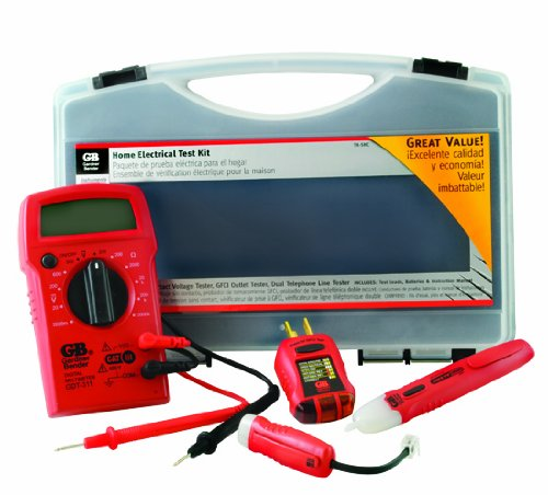 Enjoyable Gardner Bender Tk 5Hcn Home Electrical Test Kit Digital Multimeter Wiring Digital Resources Antuskbiperorg