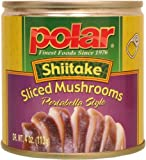 MW Polar Foods Shiitake Mushroom Slice, 4-Ounce (Pack of 24)