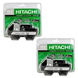 Hitachi BSL1815X 18-Volt Lithium Ion Battery #330139 2 Pack