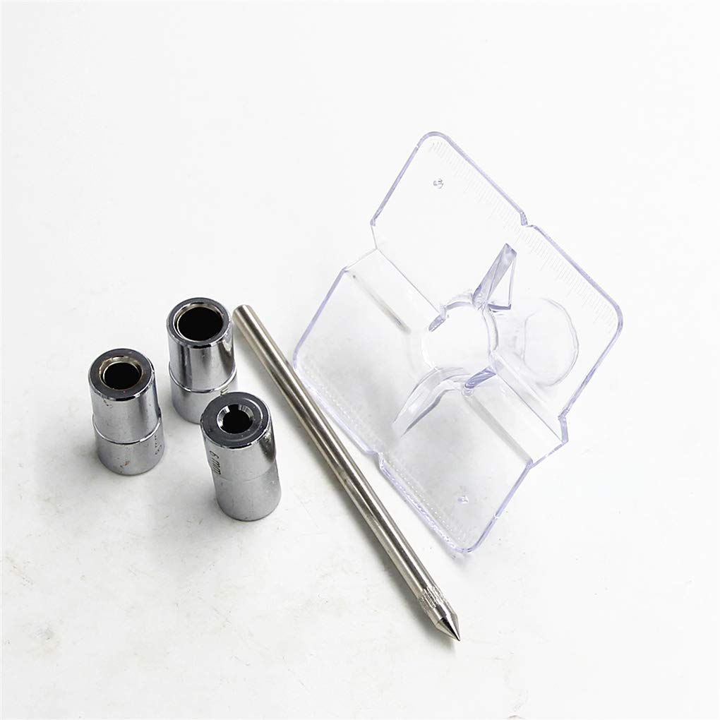 Ben-gi 6//8 10mm Mini-Tasche Loch Jig Holzverarbeitung Bohrf/ührung Set Conductor Drilling Locator Dowel Jig-F/ührer