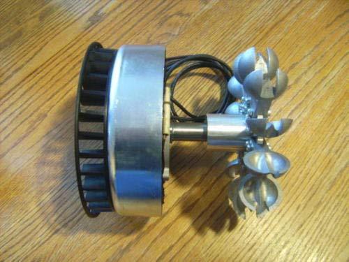 Pelton PMA Generator ME1112 Wheel Water Power 0-240 VAC 4000 Watt Micro Hydro