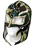 Leos Imports Rey Mysterio Adult Lucha Libre Wrestling Mask - Camo