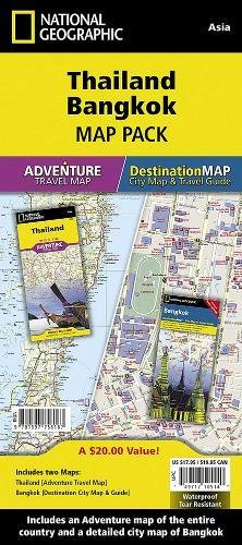 Thailand, Bangkok [Map Pack Bundle] (National Geographic Adventure Map)...
